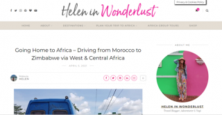 Interview - Helen in Wonderlust